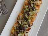 Halloumi with Fennel, Olives and Spearmint