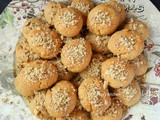 Melomakarona - Greek Christmas Honey Cookies with Walnuts