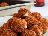 Quinoa Balls Stuffed with Cheese