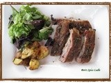 Fennel Spiced Pork Ribs with Roasted Cumin-Thyme Potatoes