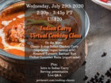 Virtual Cooking Class – Indian Curry