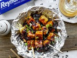 Baked Tofu with Black Pepper Sauce