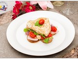 Easy Baked Chilean Sea Bass on Bed of Roasted Potatoes, Tomatoes and Onions