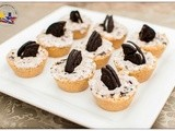 No Bake Cookies 'n Cream Tartlets
