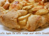 Peering Down the Pie Hole – Rustic Apple w/ Sage and White Cheddar