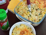 Baked Vegetable Cheesy Pasta / Baked Cheesy Pasta