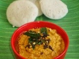 Cabbage Chutney / Side Dish For Idli / Dosa
