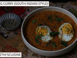 Egg curry (south indian style)