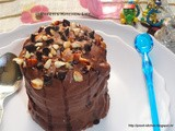Marie Biscuit Chocolate Log