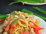 30-Minute Spicy Chicken Lo Mein