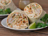 Asian Chicken Wraps + Weekly Menu