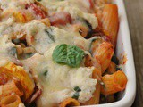 Baked Ziti with Summer Vegetables + Weekly Menu