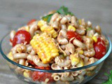 Barbecue Pasta Salad + Weekly Menu