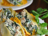 Butternut Squash and Sausage-Stuffed Shells