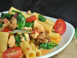 Cajun Chicken Pasta + Weekly Menu