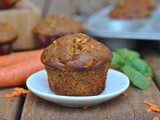 Carrot Almond Butter Muffins
