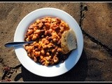 Chili Contest: Entry #5 – Vegetarian Chili with Peanut Butter