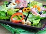 Chopped Italian Deli Salad + Weekly Menu