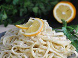 Creamy Lemon One-Pot Pasta + Weekly Menu