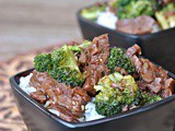 Crock Pot Beef and Broccoli + Weekly Menu