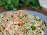 Curried Shrimp Biryani