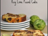 Dark Chocolate Chunk Coconut Key Lime Pound Cake + Weekly Menu