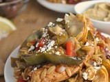 Greek Baked Chicken Orzo + Weekly Menu