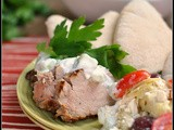 Greek Pork Tenderloin + Weekly Menu