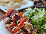 Grilled Greek Chicken Skewers + Weekly Menu