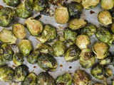 Honey Balsamic Brussels Sprouts + Weekly Menu