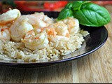 Honey Lime Shrimp + Weekly Menu