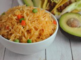 Instant Pot Mexican Rice + Weekly Menu