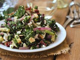 Kale Salad with Honey Dijon Vinaigrette