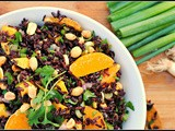 Meatless Monday: Black Rice Salad with Mango and Peanuts