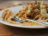 Meatless Monday: Caramelized Cabbage and Onion Pasta with Bread Crumb