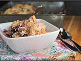 Meatless Monday: Grain-Free Apple-Pomegranate Breakfast Crumble