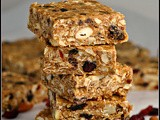 Meatless Monday: Peanut Butter Trail Mix Bars