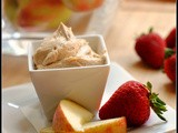 Meatless Monday: Peanut Butter Yogurt Fruit Dip