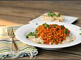 Meatless Monday: Red Curry Lentils