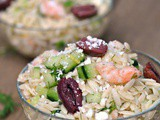 Orzo Salad With Shrimp and Feta + Weekly Menu