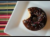 Pumpkin Spice Donuts with Chocolate Glaze