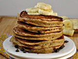 Ricotta Chocolate Chip Banana and Chia Pancakes