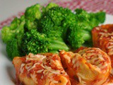 Shrimp-Stuffed Shells + Weekly Menu