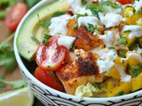 Spicy Fish Taco Bowls with Mango Pico