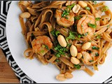 Spicy Thai Noodles with Shrimp + Weekly Menu