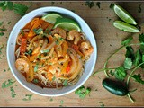 Spicy Thai Shrimp Bowls + Weekly Menu