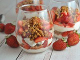 Strawberry Pretzel Parfaits
