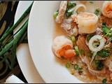 Thai Shrimp Soup with Lemon and Jalapenos