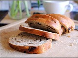 Whole Wheat Cinnamon-Raisin Swirl Bread + Weekly Menu