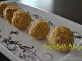 Besan Ladoo Recipe,how to make Besan ke Laddu at home,Easy Diwali sweet recipe
